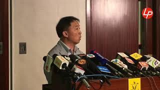 許智峯被起訴 胡志偉:民主黨重啟紀律聆訊 20181016
