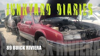Junkyard Diaries - Junk Yard Find 1989 Buick Riviera Salvage Parts