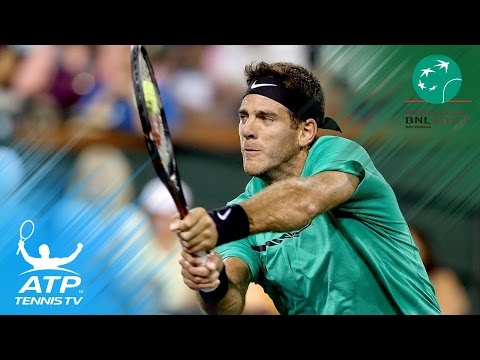Juan Martin del Potro vs Grigor Dimitrov: Top Hot Shots & Highlights | Rome 2017 Day 2