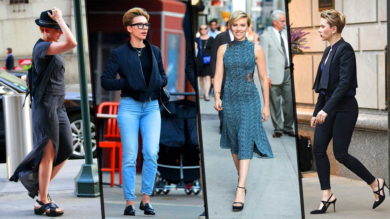Scarlett Johansson S New Hairstyle Street Styles And Fashions Youtube