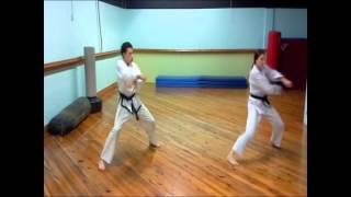 3rd Degree Black Belt Training: Ge Baek Hyung
