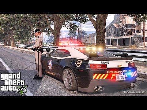 GTA 5 MODS LSPDFR 892 - FLORIDA HIGHWAY PATROL!!! (GTA 5 REAL LIFE PC MOD)