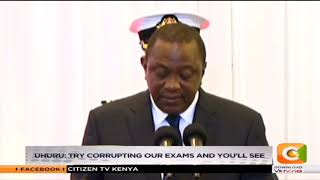 Video Uhuru: Try corrupting our exams and you'll see download MP3, 3GP, MP4, WEBM, AVI, FLV Oktober 2018