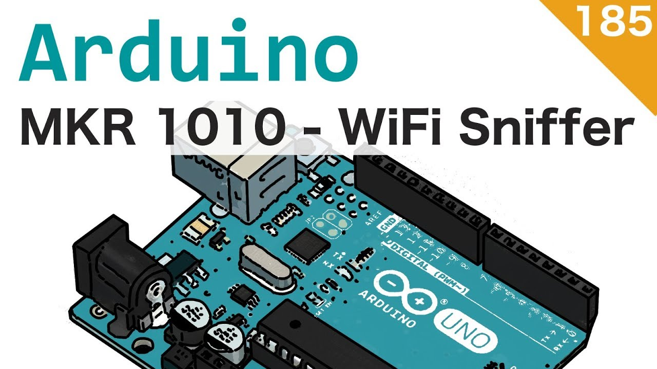 WiFi networks scanner with Arduino MKR 1010 - video 185