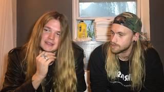 Interview with Hannes Van Dahl & Tommy Johansson of Sabaton