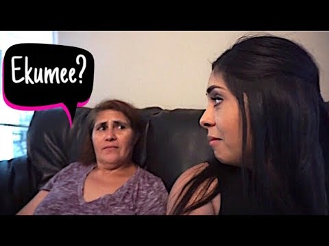 SPEAKING TO MY MOM ONLY ENGLISH! (HILARIOUS)