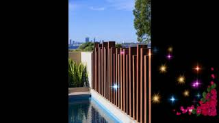 Best Wooden Fence Ideas, Wooden Fence Ideas For Beautiful Home, Exterior Backyard Design Ideas #4