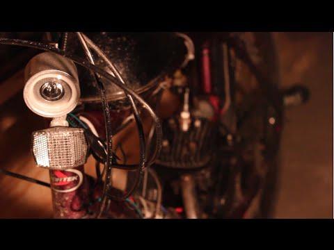 Motorized Bicycle Light Kit