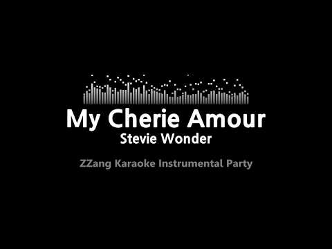 Stevie Wonder-My Cherie Amour (Instrumental) [ZZang KARAOKE]