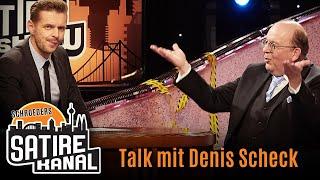 Denis Scheck im Talk mit Florian Schroeder