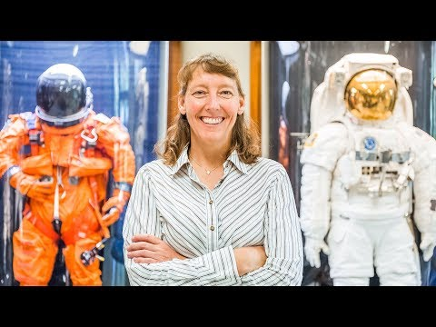 Spacesuit Designer Amy Ross Puts Astronauts in Good Hands