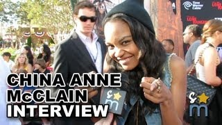 China Anne McClain Talks Chris Rock on