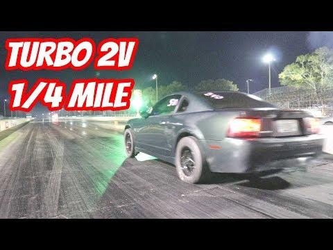 The Turbo Bullitt Lays Down an INSANE 1/4 Mile Time
