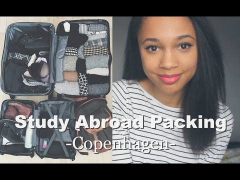 Packing for Copenhagen | Study Abroad