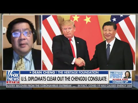 China Acting Provocatively With Chengdu Closure | Dean Cheng on Fox News