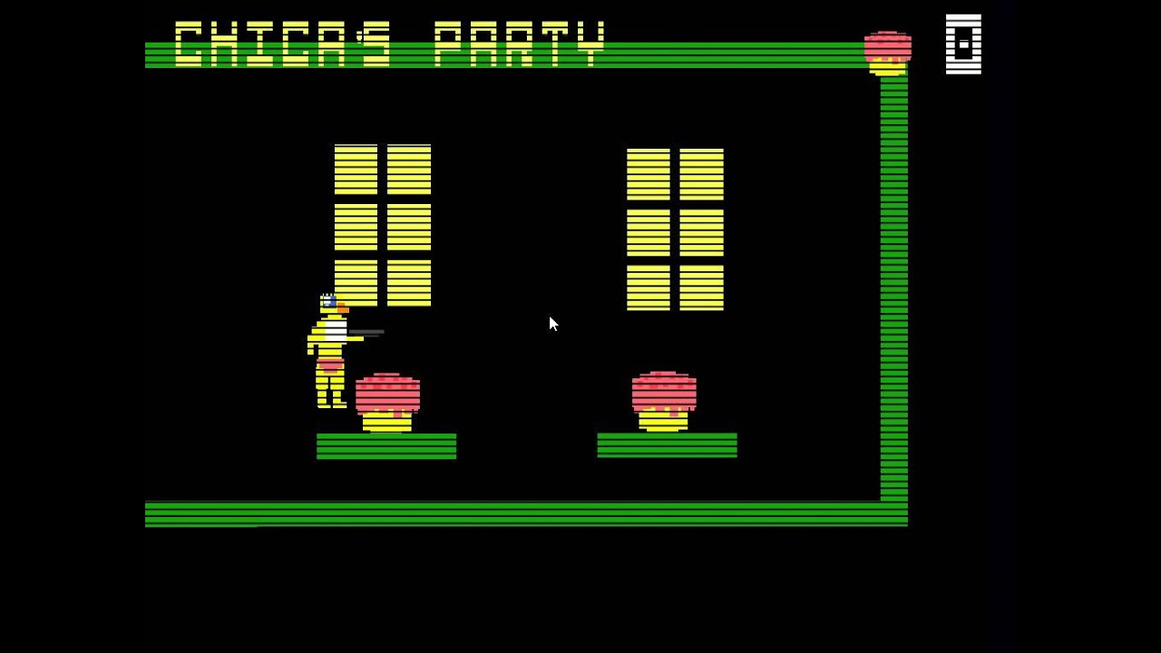 Five nights at freddy s 3 chica s party mini game youtube