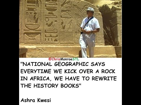 Ashra Kwesi breaks down how African history is deeper than Kemet/Egypt