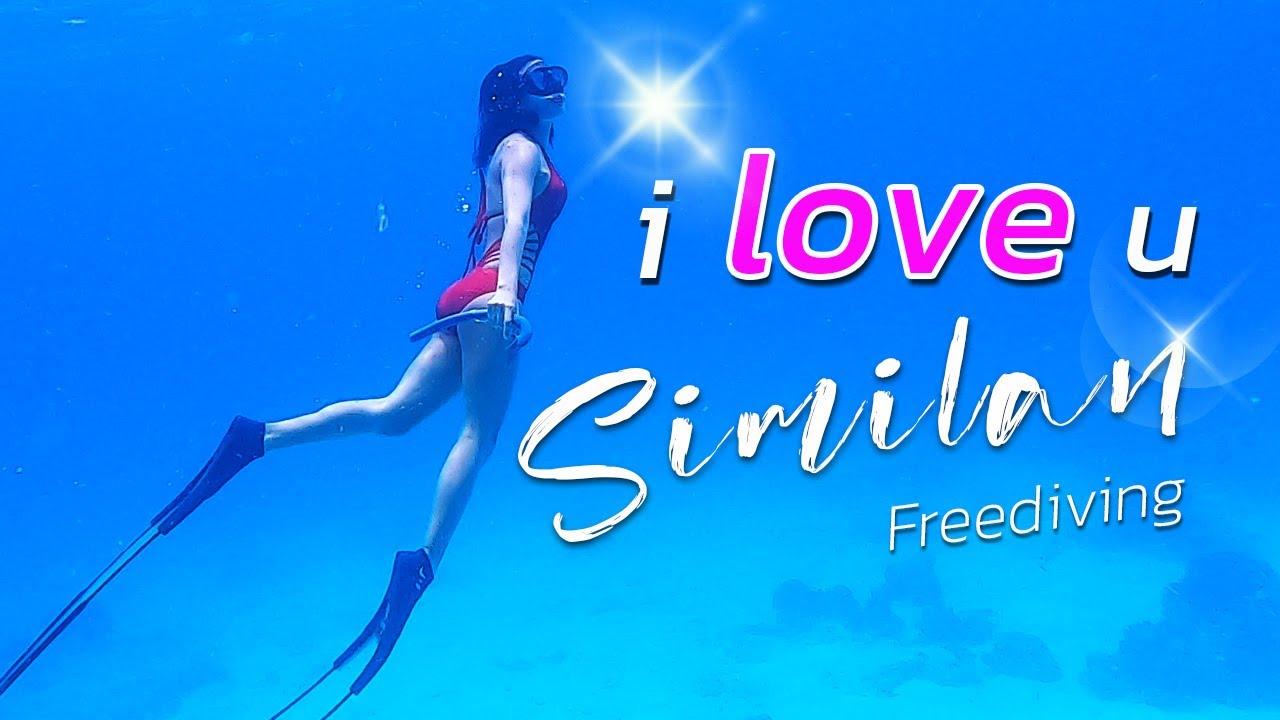 พิสูจน์ความใสใต้น้ำ หมู่เกาะสิมิลัน ไปฟรีไดฟ์กัน  l  Freediving Similan Island