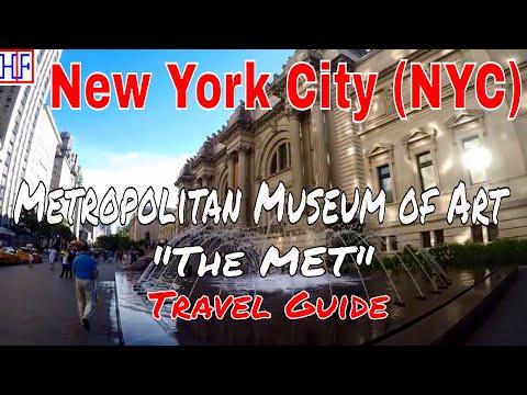 """New York City (NYC)   Metropolitan Museum of Art """"The MET""""   Tourist Attractions   Episode# 11"""