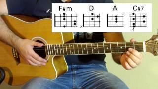 ДДТ - Просвистела Как играть на гитаре