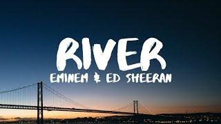 Eminem ft Ed sheeran River (vídeo lyrics español e inglés)
