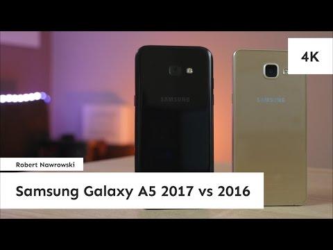 Samsung Galaxy A5 2017 vs A5 2016 Porównanie | Robert Nawrowski