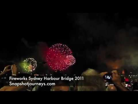 Fireworks Sydney Australia New Years Eve