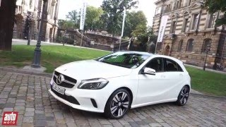 2016 Mercedes Classe A 220d  Sensation [ESSAI] : fière allure