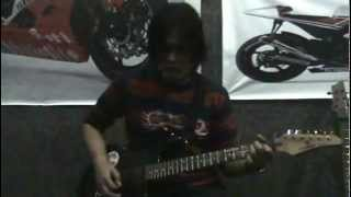 Power Slaves - Malam ini (guitar chord & solo cover)