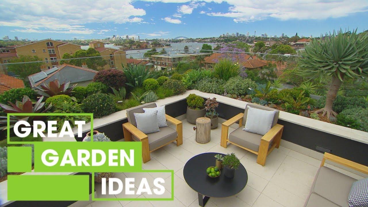 Incredible Rooftop Garden Inspiration Gardening Great Home Ideas Youtube