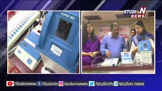 Mock Polling Conducted By Election Commission   Vijayawada