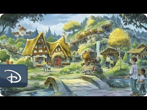 Making Seven Dwarfs Mine Train & Princess Fairytale Hall | Walt Disney World