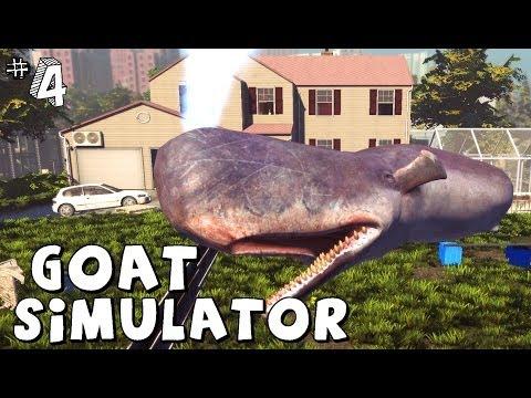 Goat Simulator - UNA BALENA SULLA STRADA?! O__O - #4