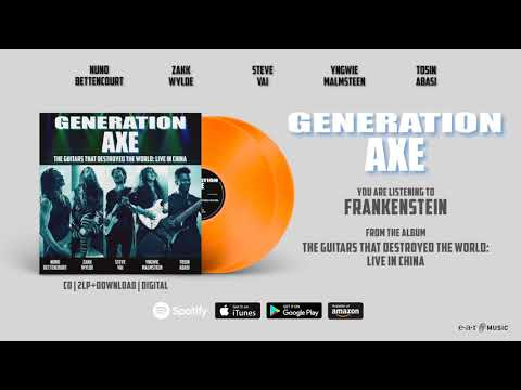 "Generation Axe ""Frankenstein"" (Live in China) Official Song Stream - Album OUT NOW!"