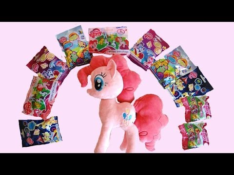 My Little Pony 12 Blind Bags & a Pinkie Pie Plush!