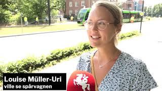 Följ med på spårvagnens premiärtur i Lund!