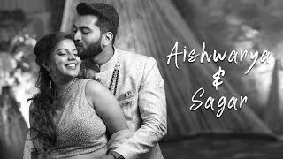 Sagar & Aishwarya | Engagement Highlights |2021