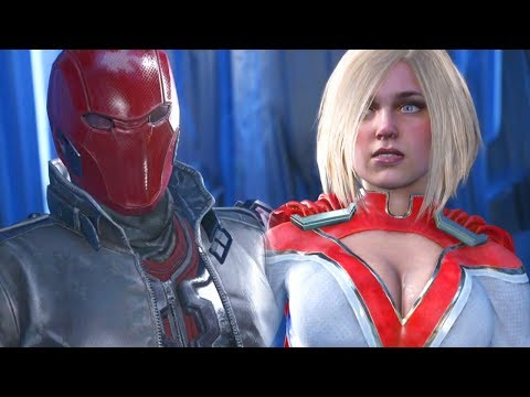 Injustice 2 - All Red Hood Intro Dialogues