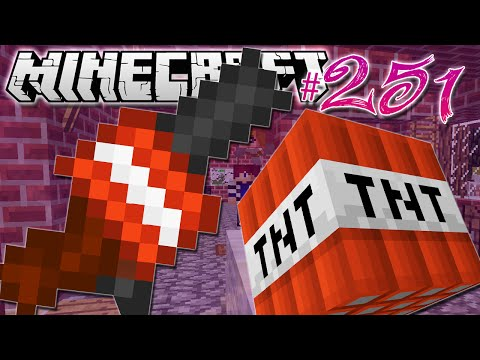 Minecraft | BLOWING UP CHRISTMAS!! | Diamond Dimensions Modded Survival #251