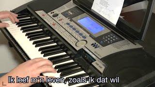 André Hazes jr. - Ik leef mijn eigen leven KARAOKE + lyrics