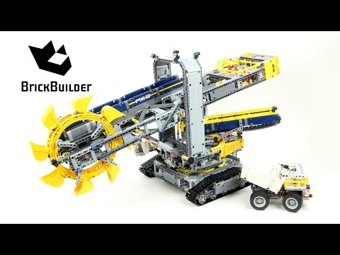 Lego Technic 42055 Bucket Wheel Excavator - Lego Speed build