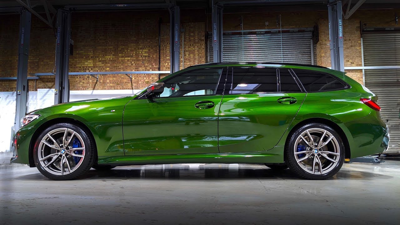 New Bmw M340i Touring 1st Look Individual Verde Ermes 2020 New Bmw Youtube