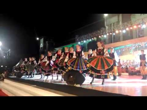 Poland folk dance on Surabaya Cross Culture festival 2017