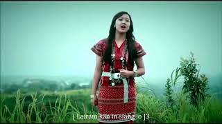 Bethsy Lalrinsangi   Lairam Na Daw Maw Lyrics  Lai Hla Thar '' Ram Hla