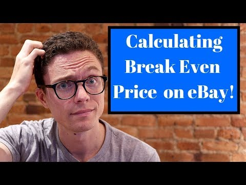 Calculating Break Even Price for eBay Dropshipping + Live Q&A