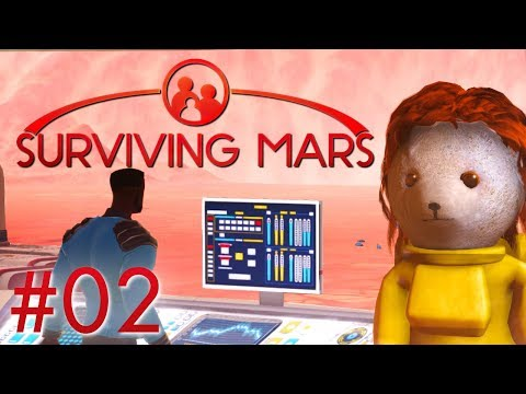 Surviving Mars Erste Marsianer Surviving Mars Deutsch German Gameplay #2