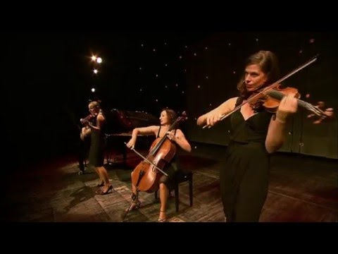 Salut Salon:  the quartet performs  with interviews