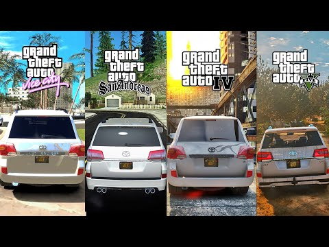 GTA V Redux 1.4 vs GTA IV Icy ENB vs GTAVC CryENB vs GTASA DX 2.0 | Ultimate Graphics Comparison! 4K