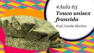 Linda Touca Franzida em Tecido