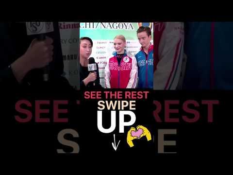 Anastasia Skoptcova / Kirill Aleshin junior grand prix final ISU instastory